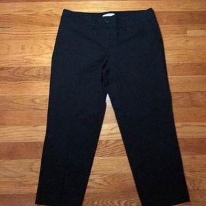 Loft - Black Crop Pant NWOT